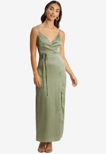 Chancery green Rocio Dress 545FCAA79A850EGS_1