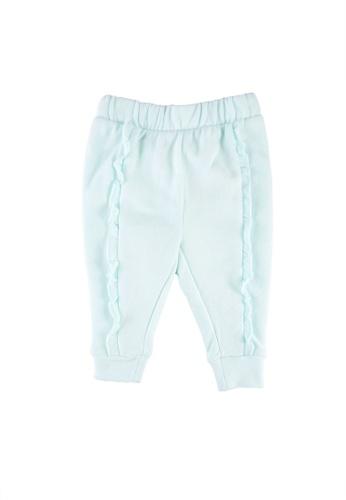 GAP blue Toddler Ruffle Joggers 74679KAB8F95E7GS_1