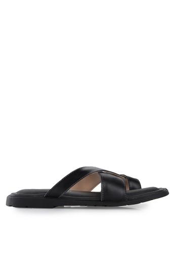 MARC & STUART Shoes black Sandal Nick MA456SH36BDFID_1