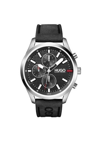 Hugo Boss black HUGO Chase Black Men's Watch (1530161) D5CB7AC2555109GS_1