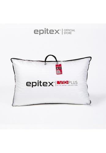 Epitex white Epitex Vio+ Plus Elite Hotel Collection Pillow (900g) 9E9EEHL27525DCGS_1