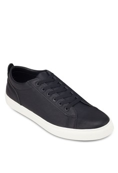Faux Leather Sneakers