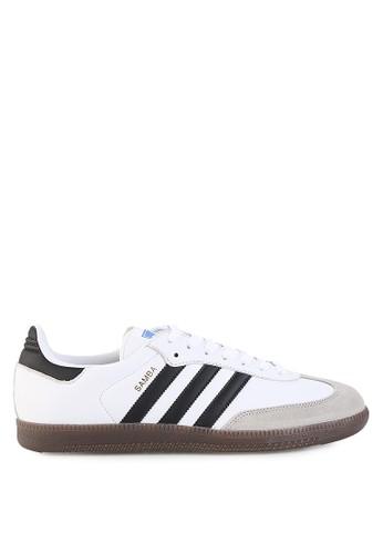 adidas white adidas originals samba og AD349SH83KFWID_1