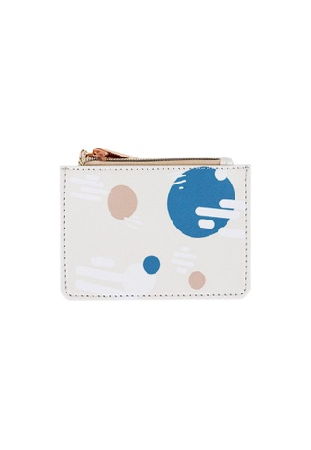 Klosh white Morandi Collection - Morning Card Case 41D47ACC5D59AAGS_1