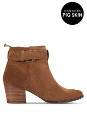 Gioseppo brown Dothan Boots GI282SH19SMIMY_1