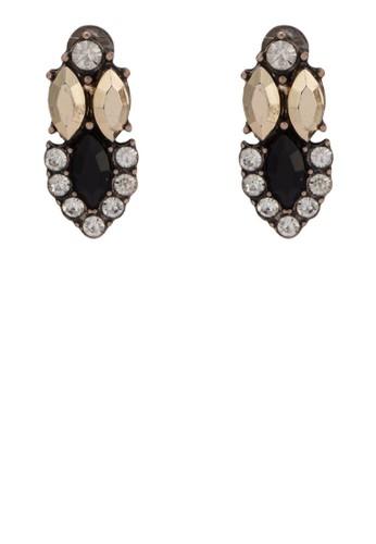 Sapphire zalora 評價閃石造型耳環, 飾品配件, 其他