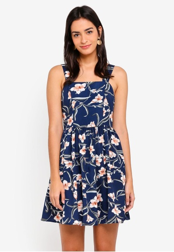 ZALORA multi Fit And Flare Dress 804CFAA368D2E1GS_1