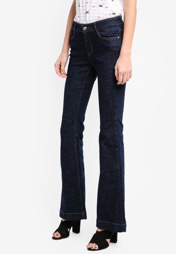 Mango blue Flared Jeans FAF0DAA8154AF5GS_1