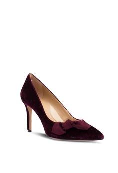 4510eb15fc95 75% OFF Banana Republic Madison - V Topline Novelty Velvet Bow Heels RM  493.00 NOW RM 122.90 Sizes 5.5