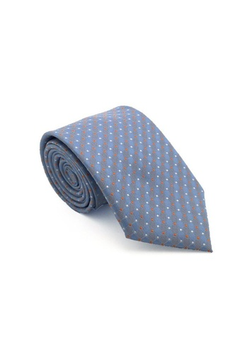 The Little Link Cufflinks grey and blue Axel Tie TH089AC07EWMSG_1