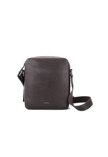 Picard brown Picard Saffiano Sling Bag 80844AC88DC95AGS_1