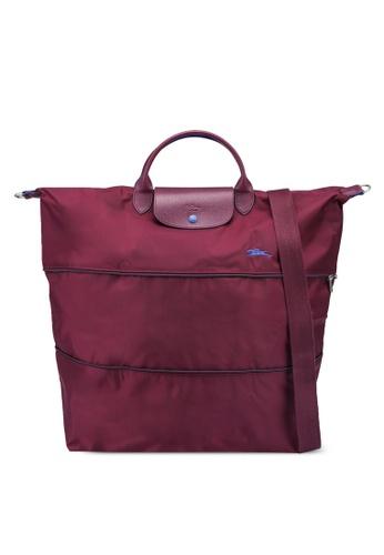 LONGCHAMP purple Le Pliage Club Travel Bag (zt) 45A2BAC20271E1GS_1