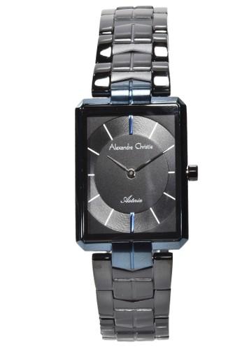 Alexandre Christie blue Alexandre Christie - Jam Tangan Wanita - Black Blue - Stainless Steel - 8551LHBUBBA FA452AC973E630GS_1