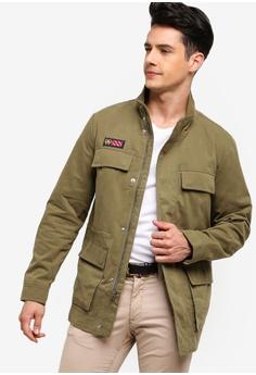 7dfd5d11d Brooks Brothers green Red Fleece 4 Pocket Field Jacket 571C1AA8669569GS_1