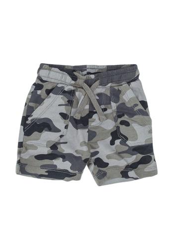 FOX Kids & Baby grey Camo Print Shorts 110ADKA87DF588GS_1