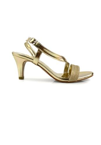 SHINE gold Slingback Lace Up Details 929FDSH79E82F1GS_1