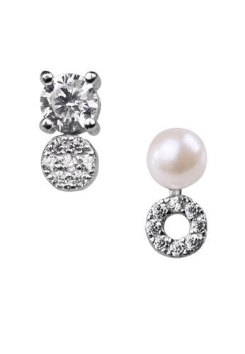 The LoveMark silver Merfolk Silver Earrings TH516AC71DKAPH_1