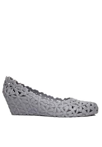 Twenty Eight Shoes grey Jelly Fretwork Wedges VR-M801 CC92ESH44C5770GS_1