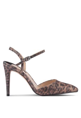 Dorothy Perkins brown Leopard Ena Court Heels DO816SH32UZBMY_1