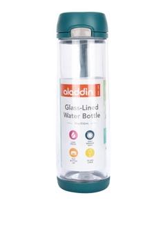 01a24db80 ALADDIN green Glass-Lined Water Bottle 18 oz ED5E6ACC1CDFAAGS_1