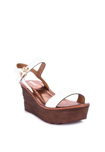 71240c1a41d Shop Figliarina Strap On Wedge Sandals Online on ZALORA Philippines