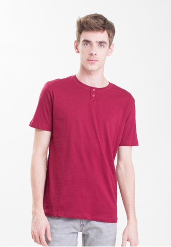 Drum 2 Button Basic Tee - MRN DR425AA0RYD0MY_1