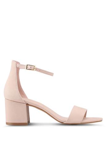 ALDO pink Villarosa Heeled Sandals 667E6SH51D1666GS_1