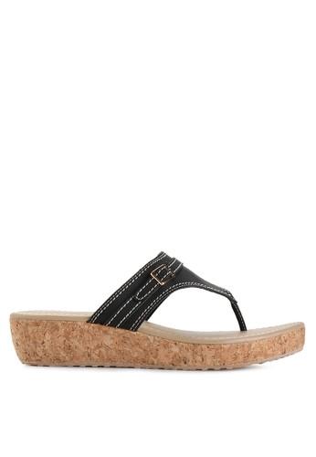 Mandy's black Aiyana Black Sandals MA947SH44DZBID_1