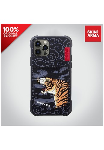 "Skinarma black Case IPhone 12 / Case IPhone 12 Pro 6.1"" Skinarma Densetsu - Tiger 9B999ESF6685A0GS_1"