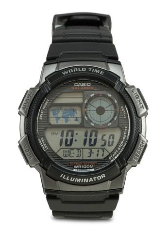 AE-1000W-1BVDFesprit高雄門市 多功能電子錶, 錶類, 其它錶帶