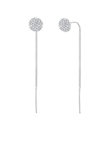 Elli Germany silver Elli Germany 925 Sterling Silver Swarovski® Crystals Earrings EL474AC0S1ZGMY_1