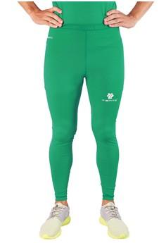 harga Tiento Baselayer Manset Rash Guard Compression Long Pants Green Zalora.co.id
