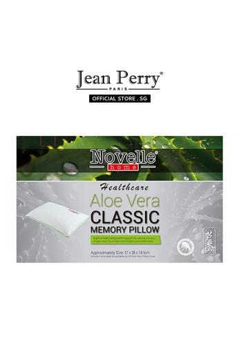 Novelle Novelle Healthcare Classic Memory Pillow - Aloe Vera 2E3F0HLEE405EAGS_1