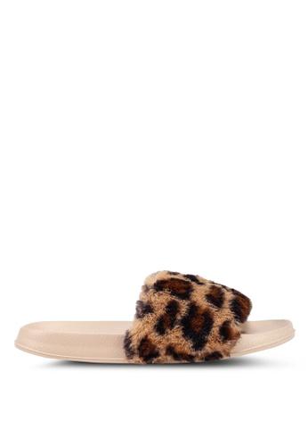 Rubi 多色 動物紋涼鞋 8557CSH02BD368GS_1