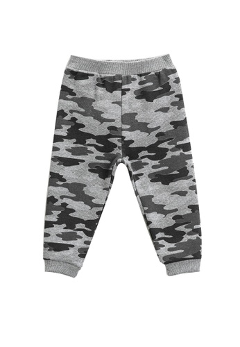 KOTON grey Graphic Sweatpants 7672DKAEA7C779GS_1