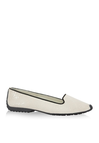 Covet beige French Sole Gabi Slipper Ballet Flats CO331SH38WHLPH_1