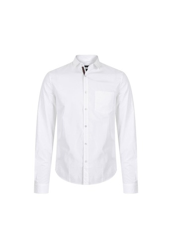 Gucci white PRE-LOVED GUCCI COTTON SHIRT-WHITE 73879AAB834C45GS_1