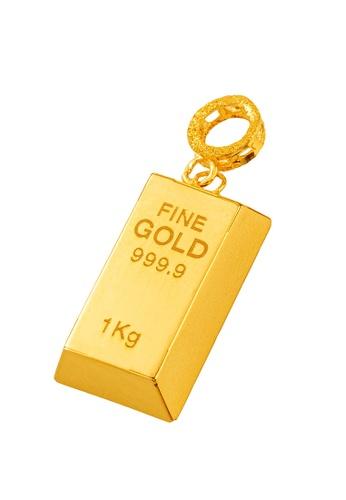 LITZ gold LITZ 916 (22K) Gold Bar Charm 小金条 GP0227-A(S)-1.38G+/- 8C3F0ACE3AFE26GS_1