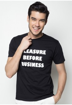 Pleasure Before Business T-shirt