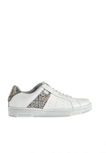 Royal Elastics 白色 Icon 皮質休閒鞋 RO796SH099IETW_1