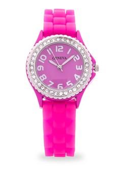 Silicone Fashion Watch 11501L