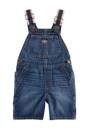 NWT Carter/'s Baby B/'gosh Boys/' Blue Cargo Romper Or Striped Print Shortall