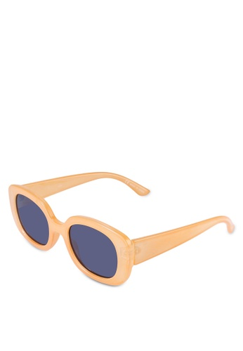 Rubi yellow Jade Square Sunglasses 8E517GL67BA1E5GS_1