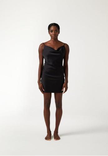 Annibody black PAIGE Mini Dress - Black D06FFAA57F2CC9GS_1