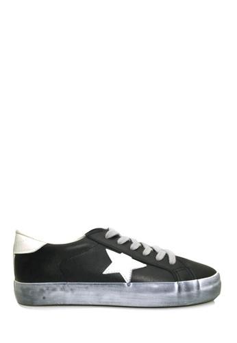 Twenty Eight Shoes 黑色 五角星運動鞋 VT8888 0673ESHA06BD34GS_1