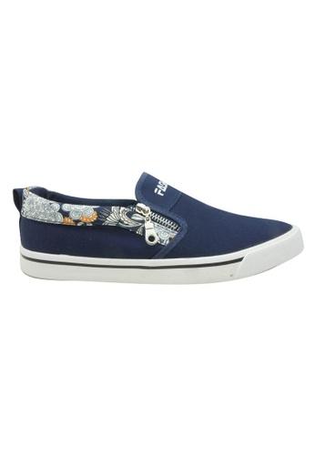 midzone navy EGM Canvas Sneaker MI949SH46JXHMY_1