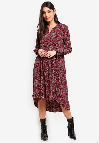 JACQUELINE DE YONG multi Farhana Long Dress 347F1AAE6A0560GS_1