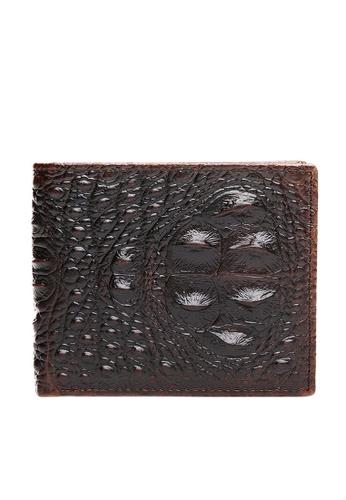 Twenty Eight Shoes Top Layer Cowhide Crocodile Texture Wallet 532 11EEAACF53E3B6GS_1