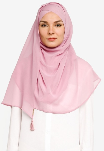 Bokitta pink Smoothie Maxi Instant Hijab 26728AA7DB7D9BGS_1