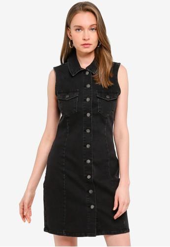 JACQUELINE DE YONG black Sanna Sleeveless Dress ABB5BAAA5F6739GS_1